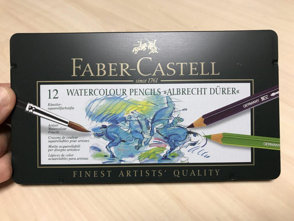 アルブレヒトデューラー水彩色鉛筆